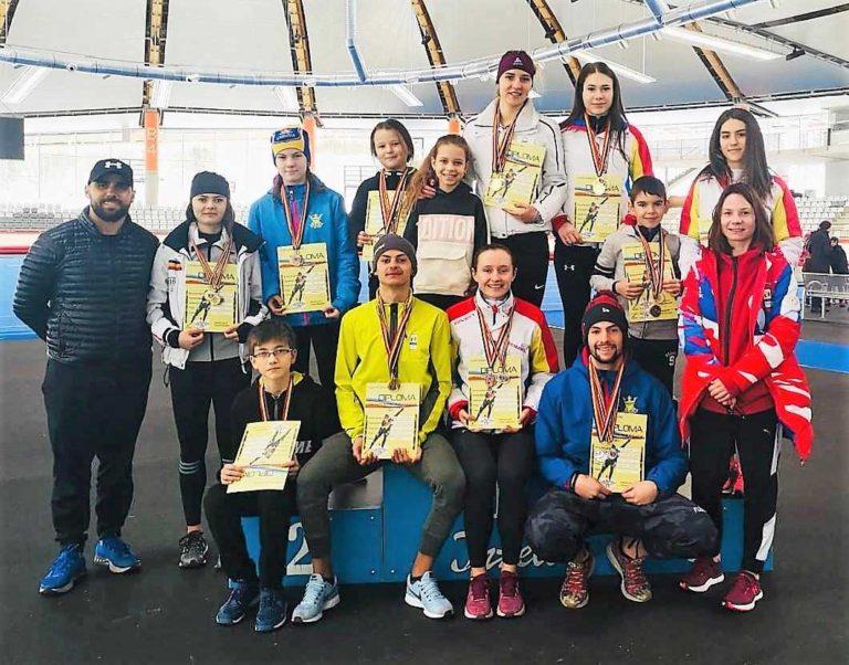 33 de medalii pentru Corona, la Naţionalele de patinaj viteză de la Inzell