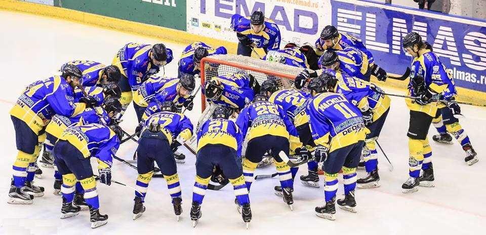 Corona Brașov, medalie de argint în Campionatul Național de hochei pe gheață