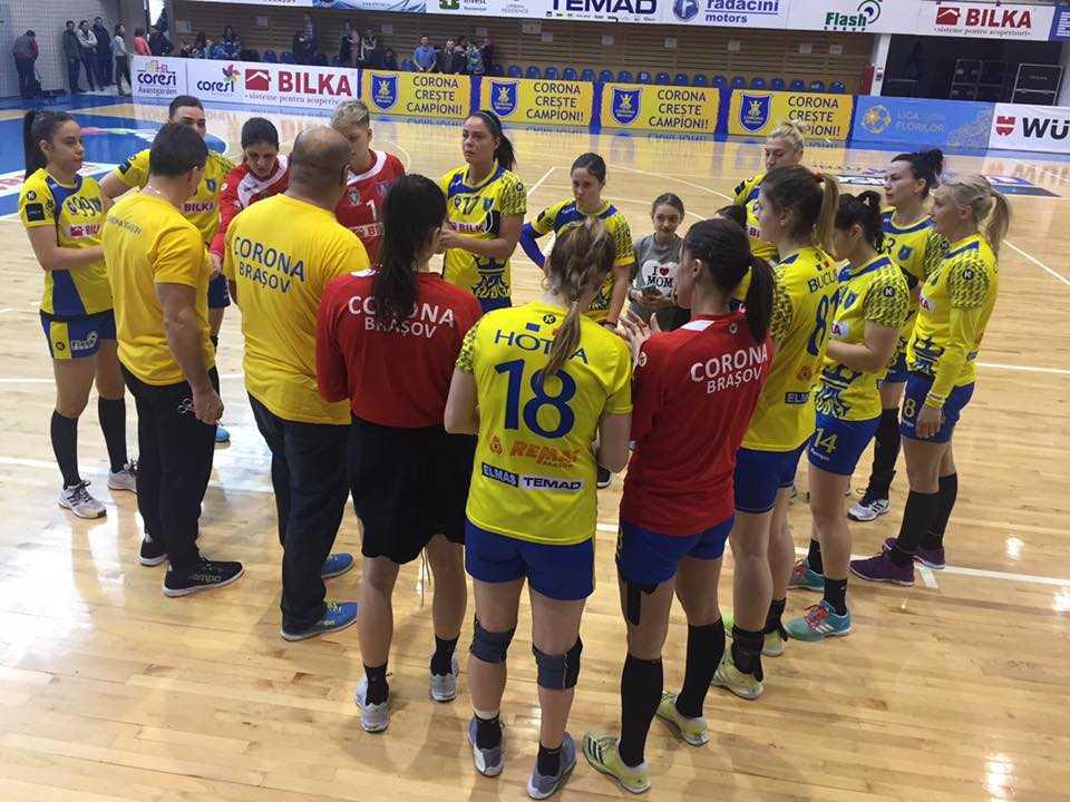 Corona Brașov va juca în weekend cu Rapid București