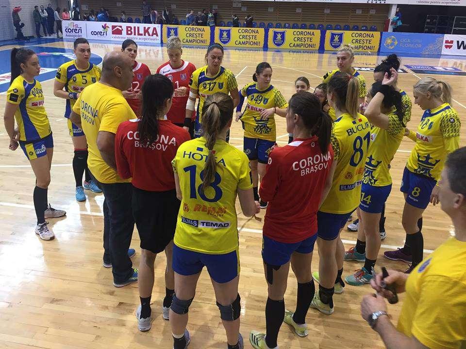 Deplasare grea pentru handbalistele de la Corona, la Cisnădie