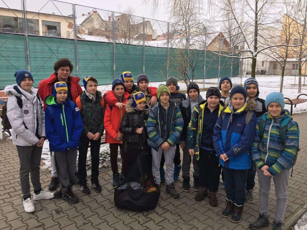 Echipa de polo copii, locul 6 după turul calificărilor Campionatului Național