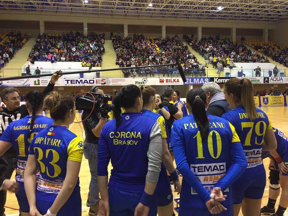 Handbalistele Coronei, eliminate din Cupa României de campioana CSM Bucureşti