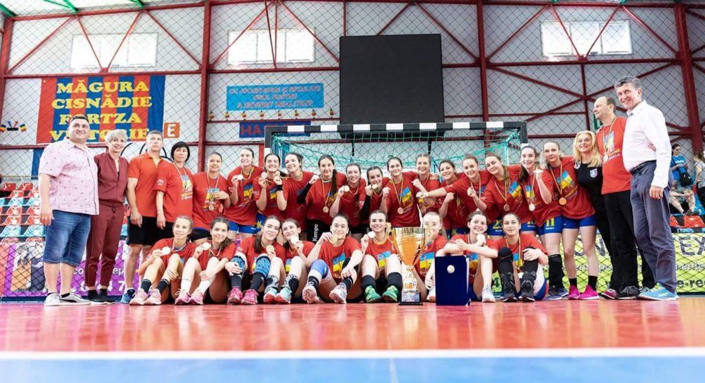 Corona Transilvania Brașov, campioană națională la handbal, al doilea an la rând!