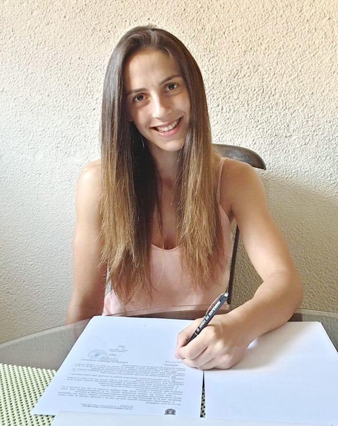 Corona Braşov a semnat un contract cu extrema Natasha Nolevska!
