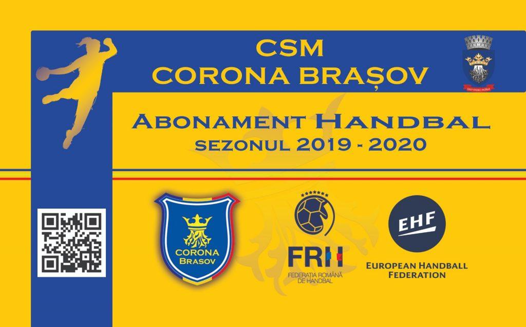 Corona Braşov începe pe 1 august vânzarea de abonamente la handbal şi hochei