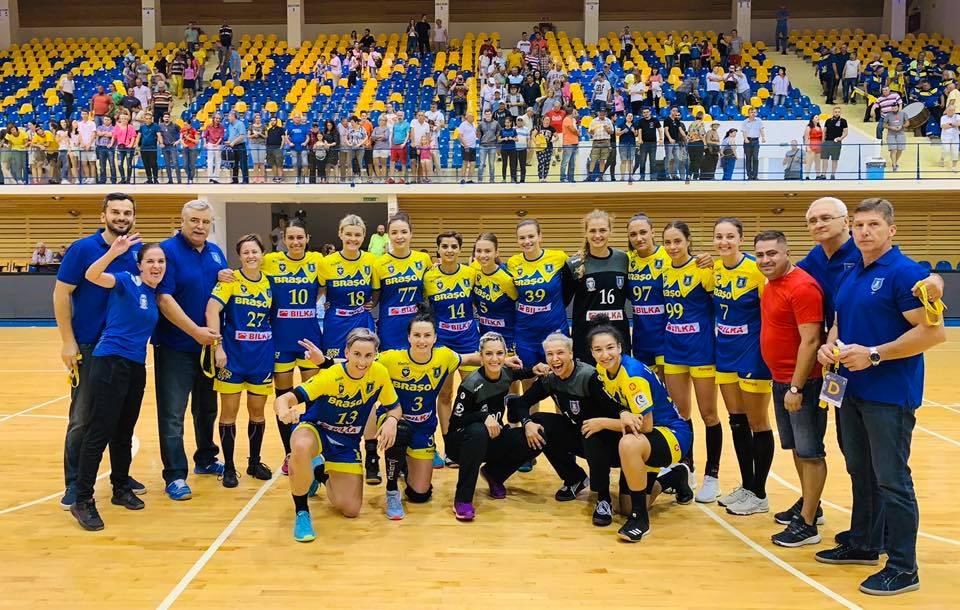 Handbalistele Coronei au rămas neînvinse şi după jocul cu Dunărea Brăila
