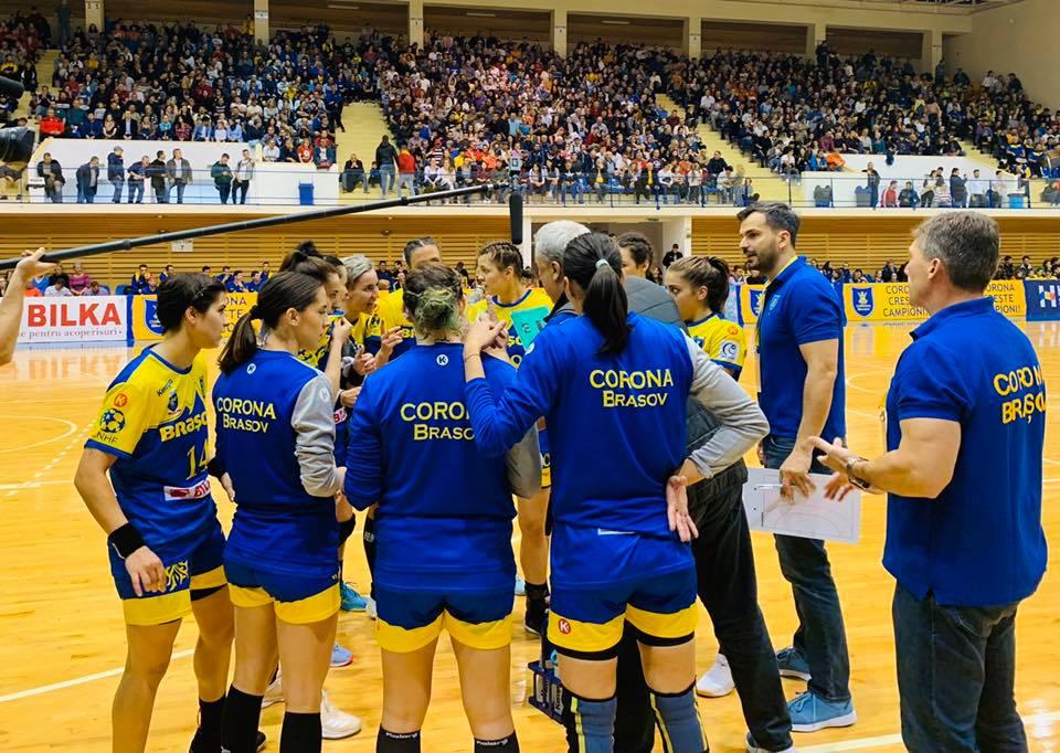 Corona luptă pentru calificarea în grupele Cupei EHF