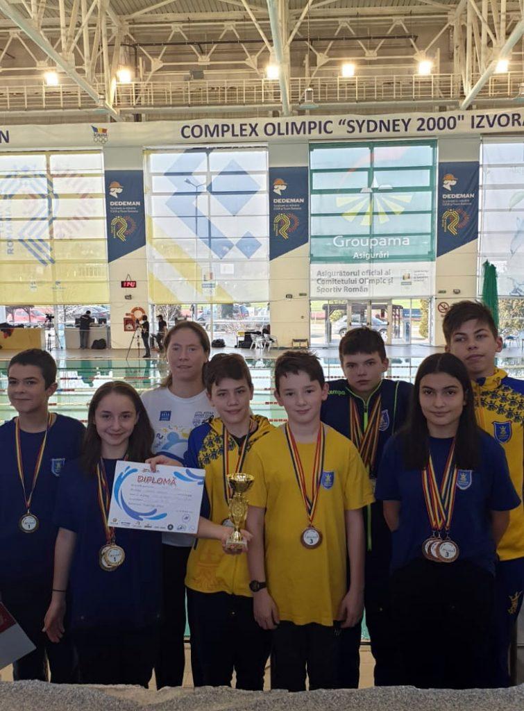 Rezultate bune pentru înotătorii Coronei în competiţia din week-end, de la Izvorani