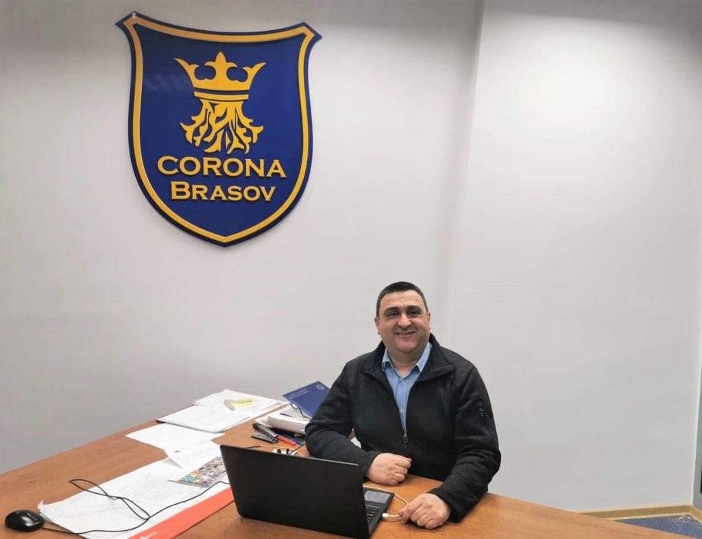 Marius Fetti: Am acceptat această funcţie cu încrederea şi ambiţia de a readuce handbalul braşovean acolo unde îi este locul