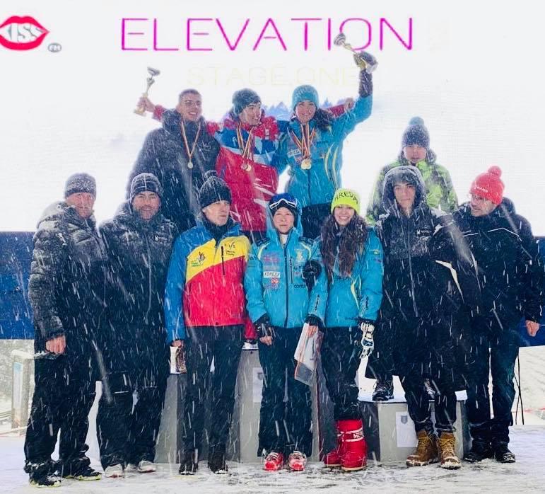 """11 medalii la """"Cupa Corona"""" la schi alpin"""