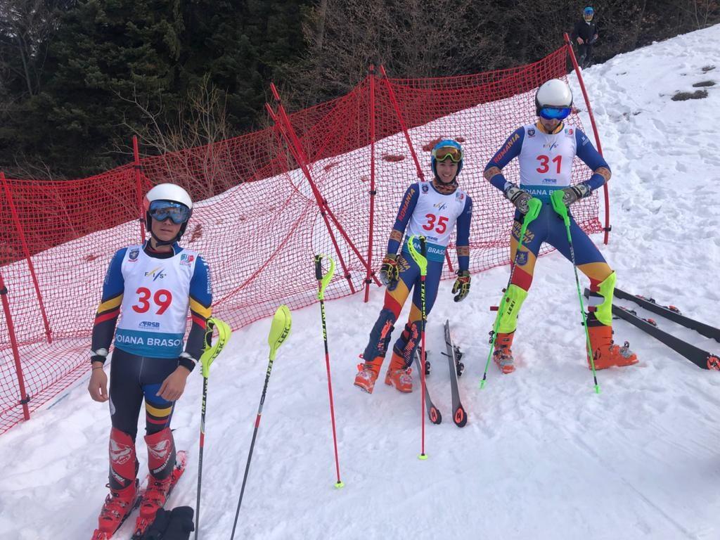 Trei titluri de campioni şi două medalii de bronz pentru Corona, în prima zi a Naţionalelor de schi alpin