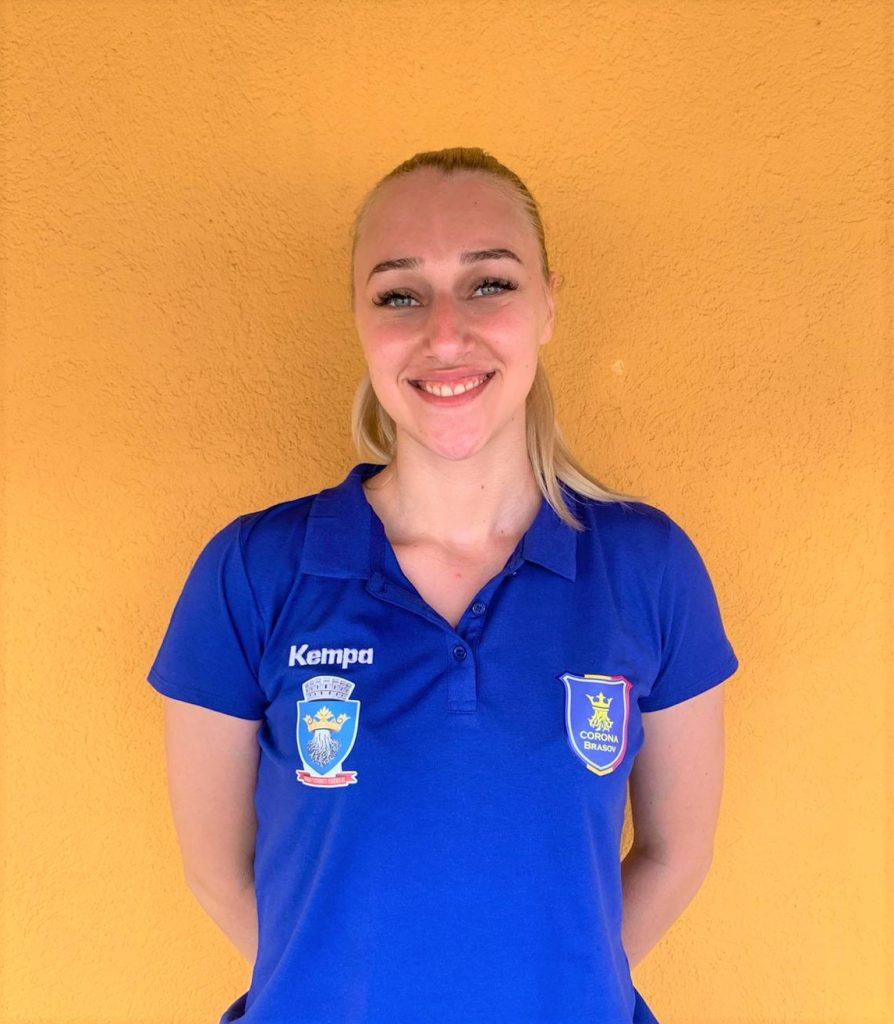 Portarul echipei naționale de tineret, Ioana Ugran, a semnat cu Corona Braşov