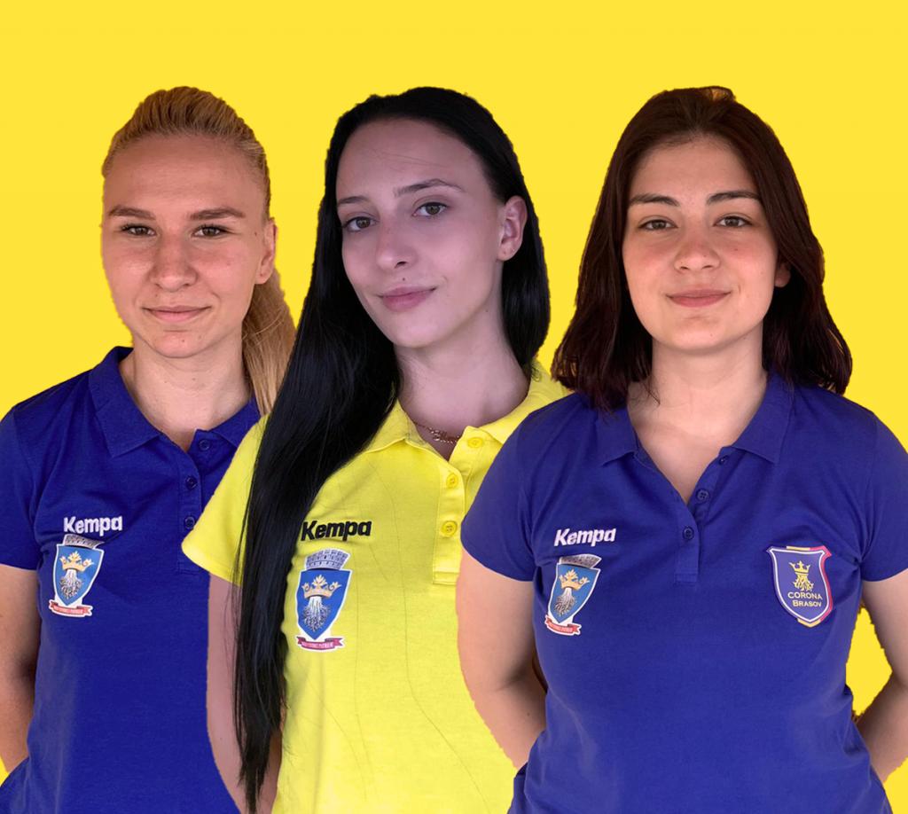 Sarah Darie, Carla Lăcătuș și Flavia Munteanu îmbracă tricoul Coronei