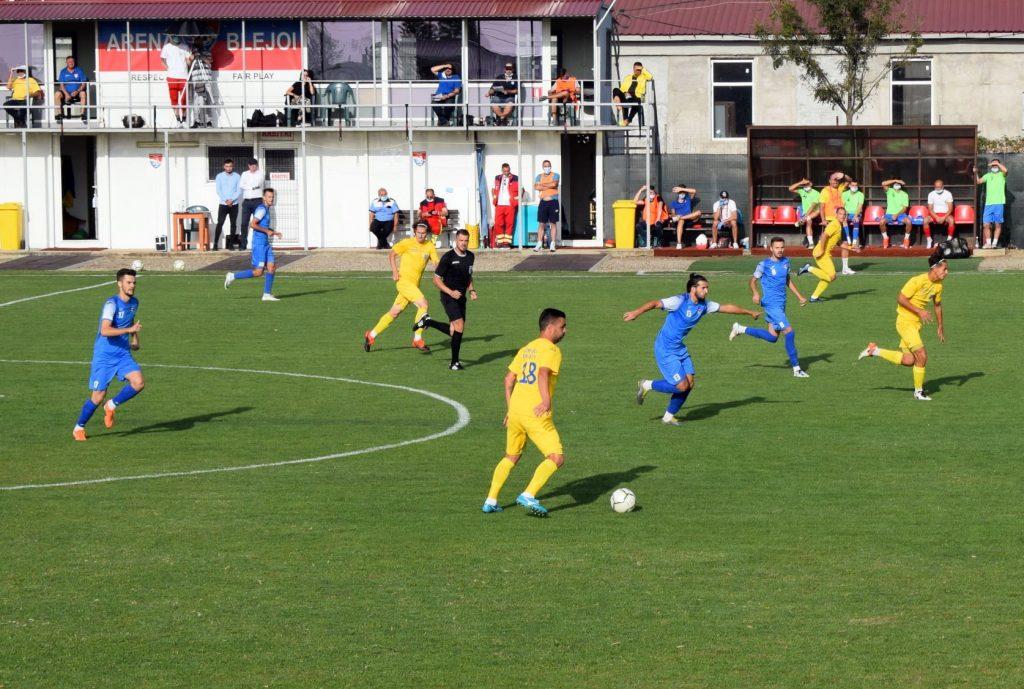 Fotbaliştii Coronei se întorc cu victorie de la Blejoi