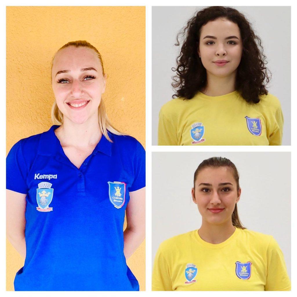 Trei handbaliste de la Corona au fost convocate la naţionala de tineret