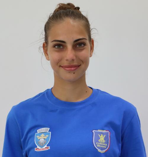 """Medeea Iordan (CSM Corona Brașov) pregătește cu """"tricolorele"""" participarea României la Campionatul European U17"""