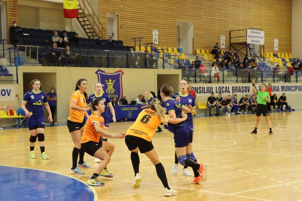 Corona Brașov a remizat (22-22) cu Neptun Constanța