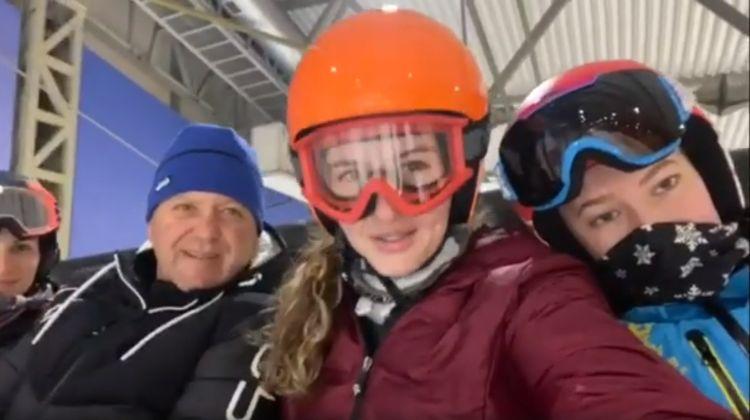 Cantonament indoor în Lituania, la Snow Arena, pentru schiorii Coronei