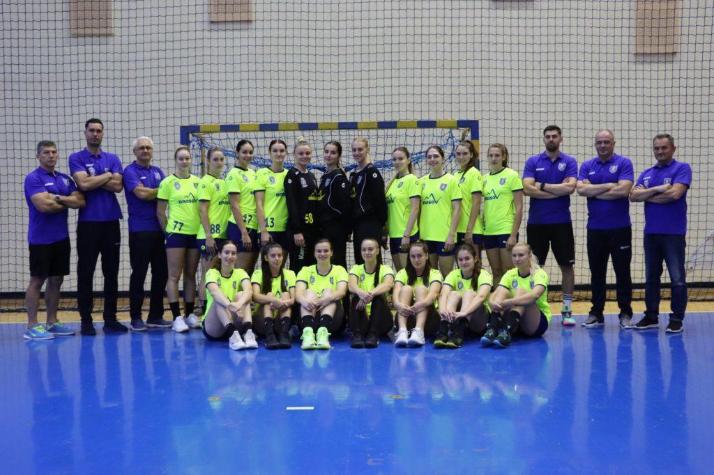 Corona Brașov și-a măsurat forțele cu CS Dacia Mioveni 2012